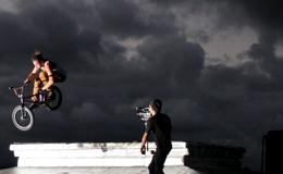 POTW: Makl Heinrich. Rooftop tobogan