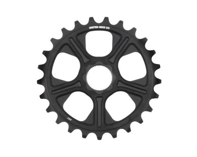 United-Super8-Spline-Drive-Sprocket-black