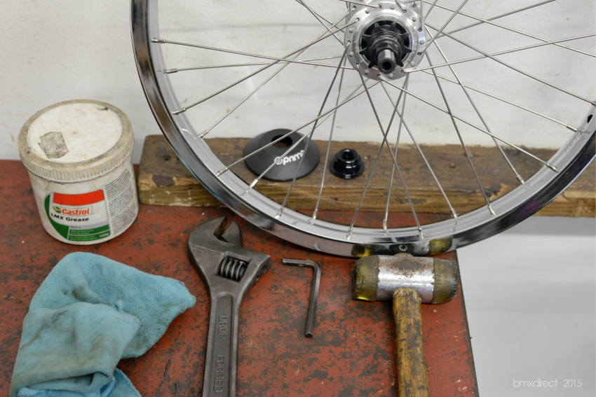 Freecoaster Maintenance @ BMX Direct