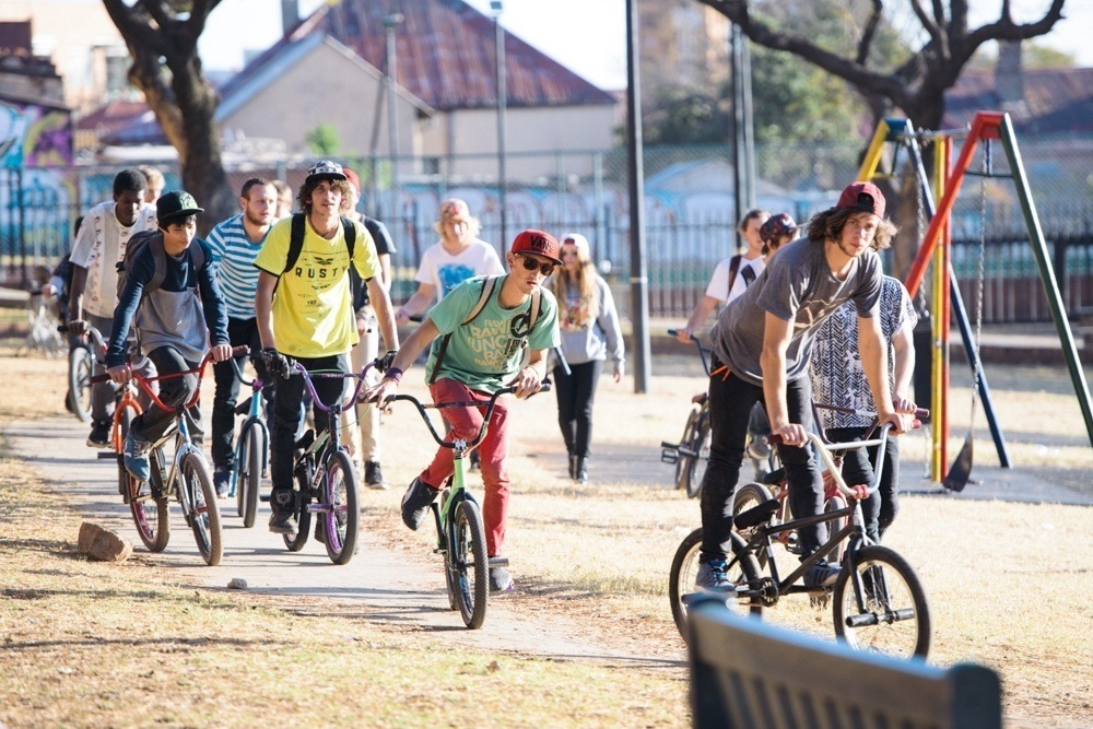BMX Day 2015 Johannesburg - Moving!