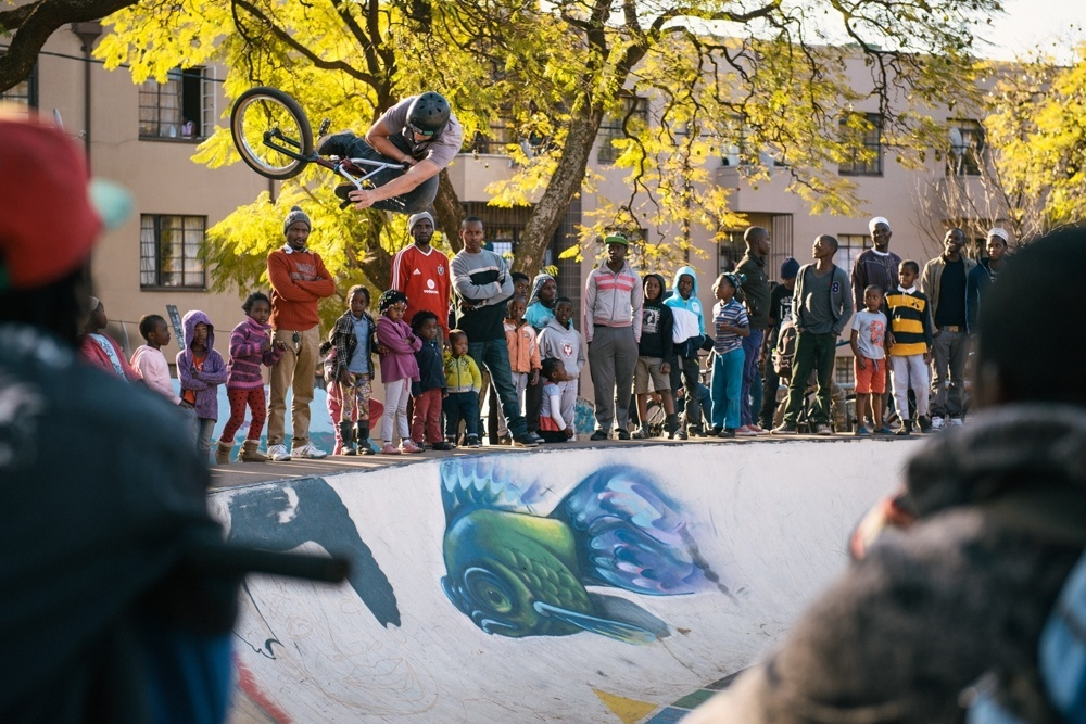 BMX Day 2015 Johannesburg -  Martin Dejager - Table 2 - Troyville Bowl