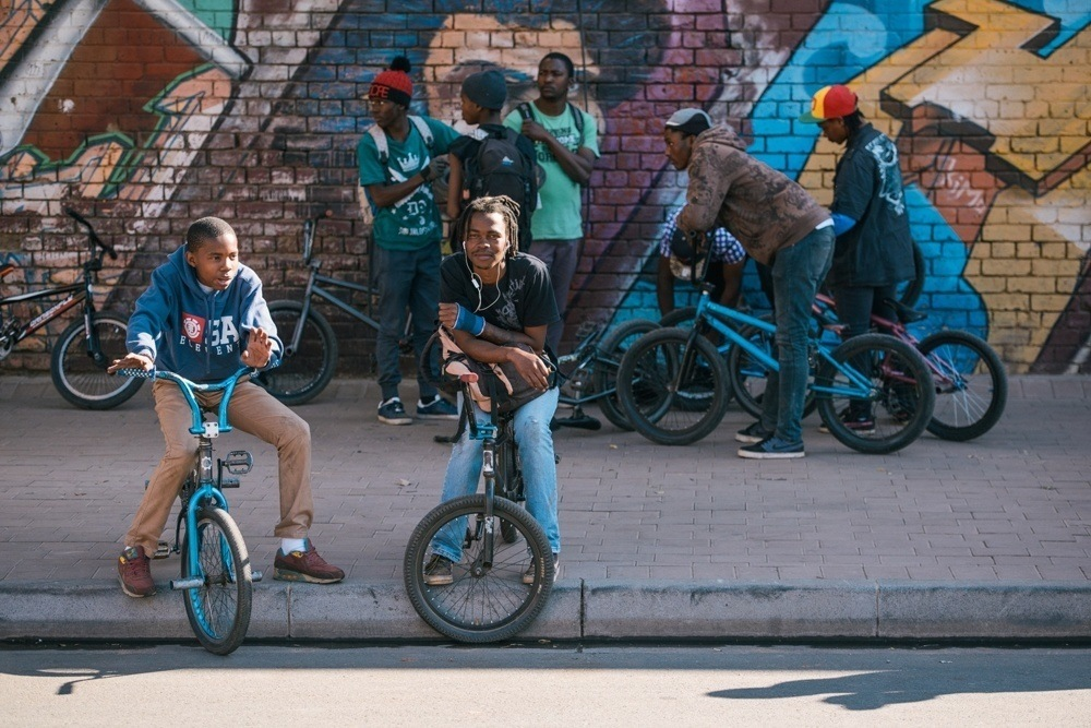 BMX Day 2015 Johannesburg - Mobbing in the streets