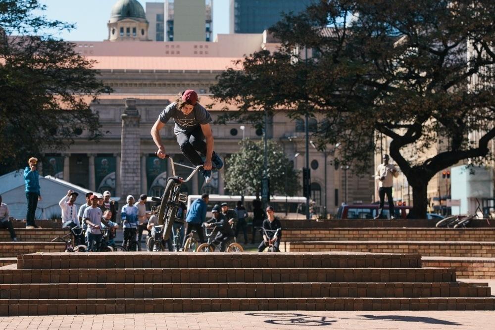 BMX Day 2015 Johannesburg - Robert Davies - Tailwhip - Library Gardens