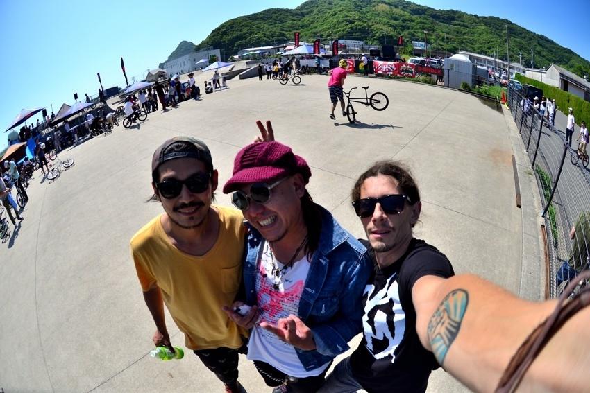 Nagasaki with Hiroshi and Dasuke