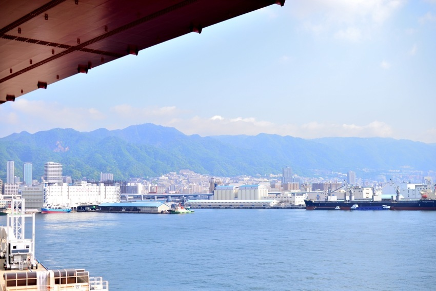 Kobe Harbour/overpass