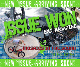 Issue Won BMX Zine