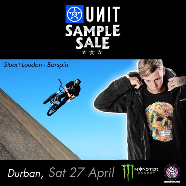 Unit Sample Sale this Weekend at BMX Direct