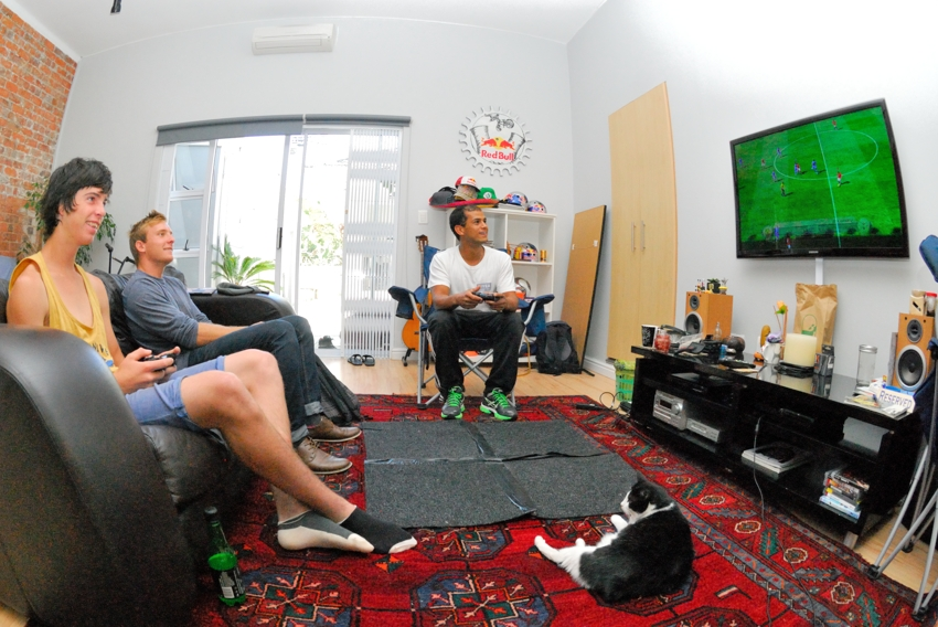 Buddy, Blaze and Darren. Fifa sessions