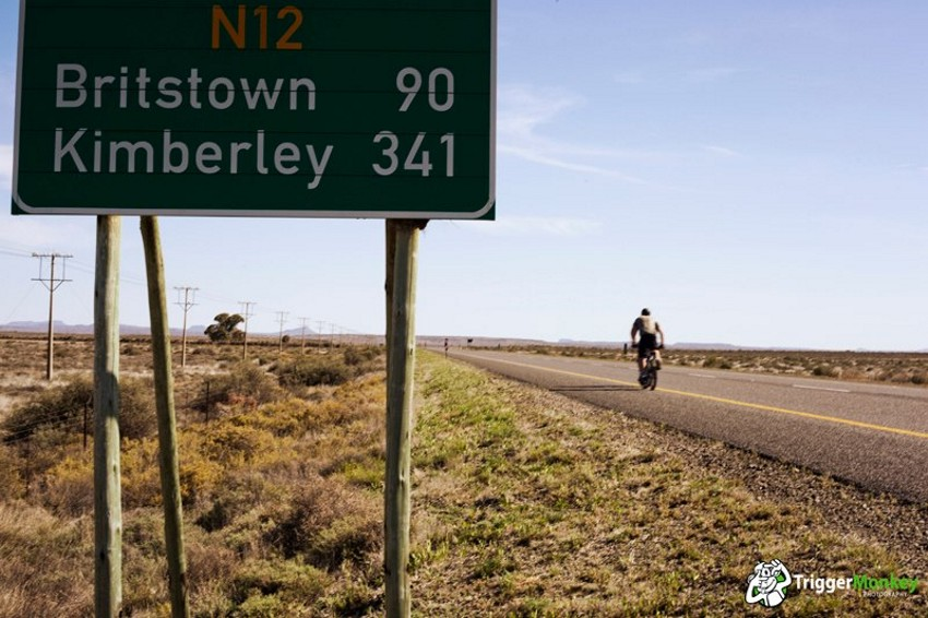 One Gear Cape Town to Jozi on a BMX