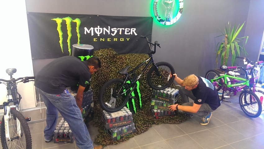 Monster Energy x BMX Direct Bike Giveaway