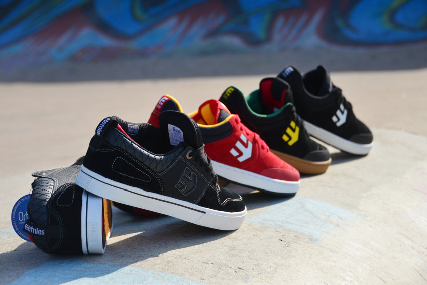 Etnies Brake and the range of Etnies Marana shoes now available at BMX Direct.