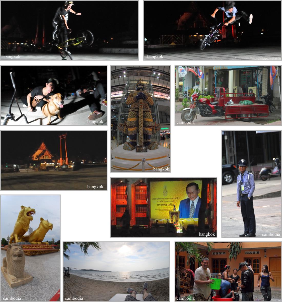 Collection of random pics - Bangkok and Cambodia