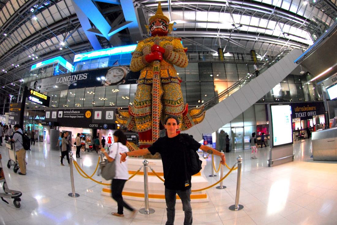 To Asia and back in 4 weeks!