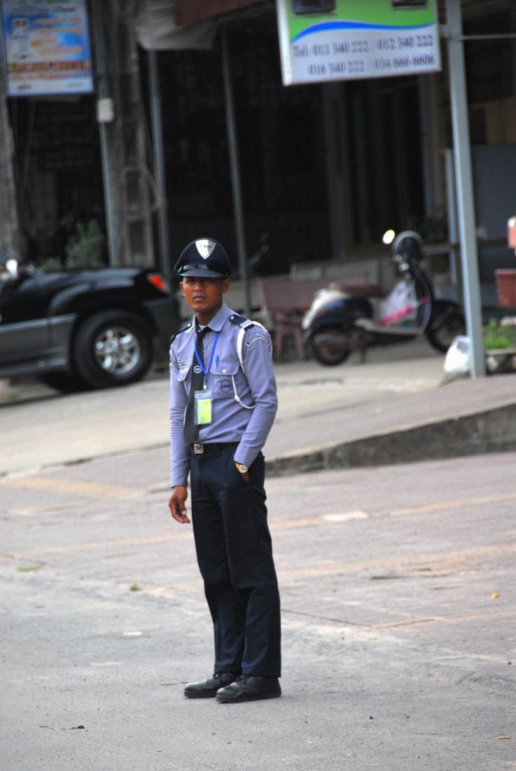 A random security dude on duty