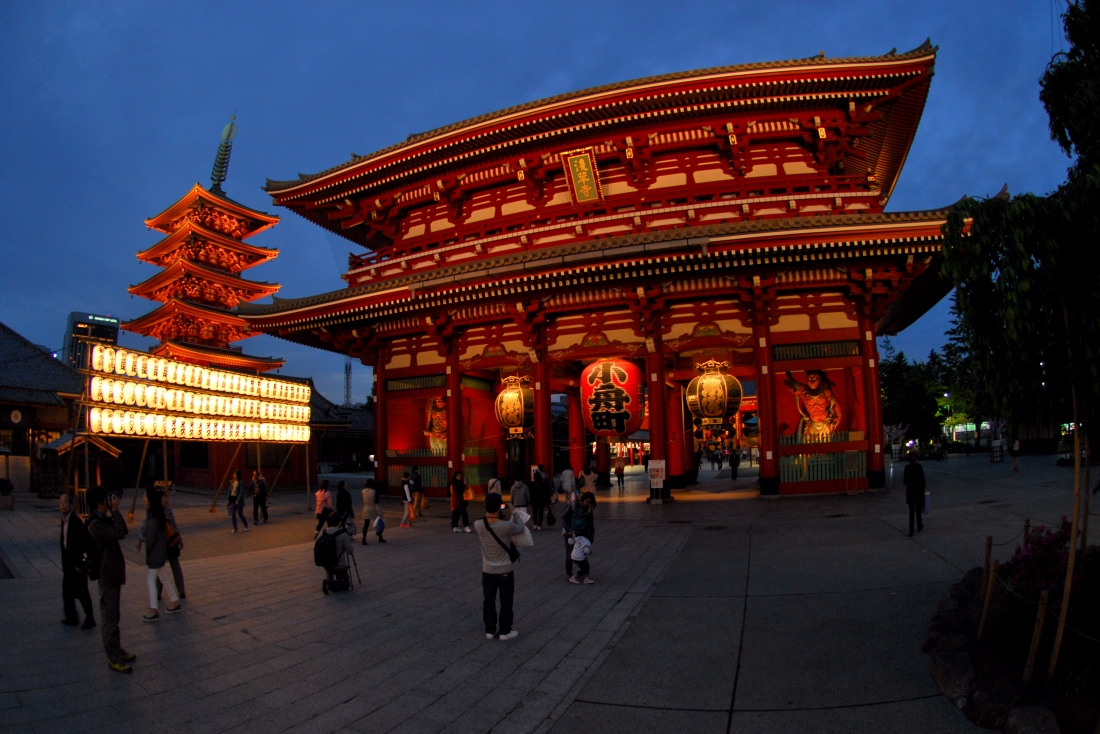 The Senso-Ji Temple is magnificent. It was located right across the road from the hostel i stayed in.