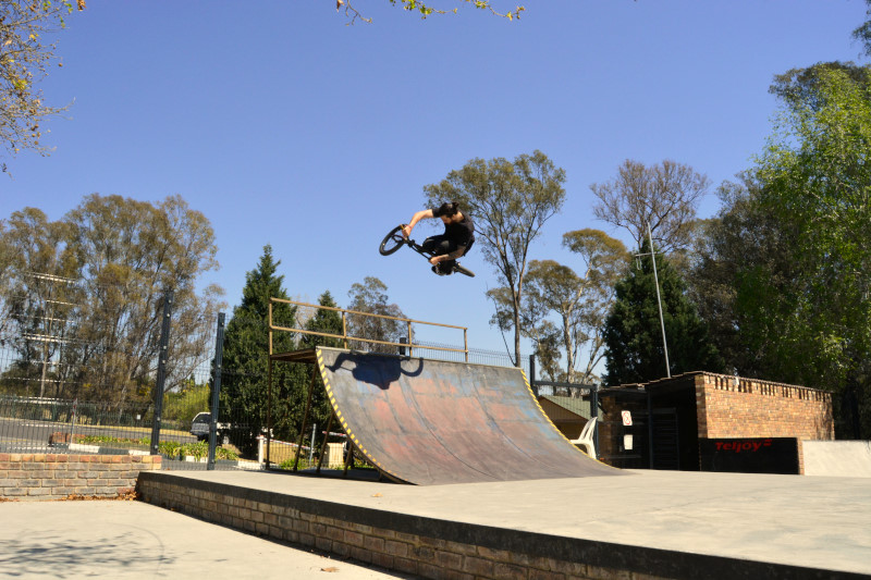 Andy will show you how its done. YBF Park.