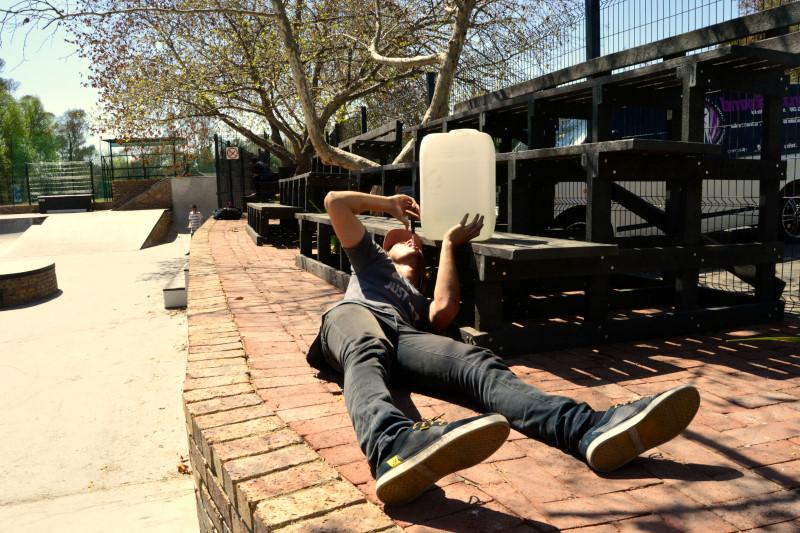 YBF Plaza in Jukskei Park. Randburg. Skate, BMX, Church, Hot, Fun?, Oasis