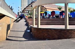 Stuart Loudon for Fox South Africa. BMX Street Edit 2014