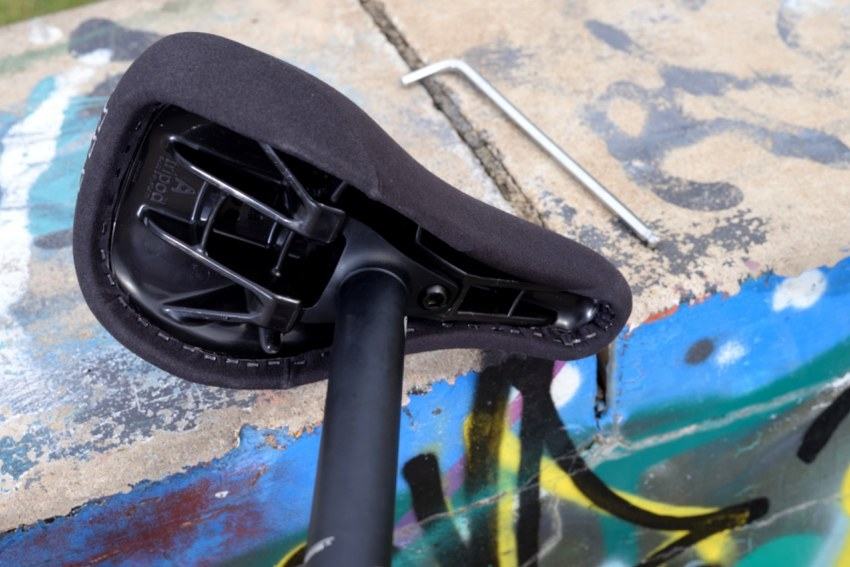 The completed Tripod Seat System - BMX Direct