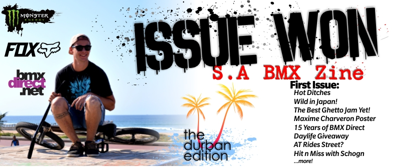 Issue Won #1 - First Issue - The Durban Edition