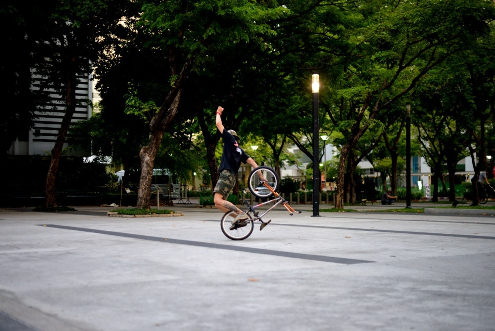 Bung has some cool back wheel combo's