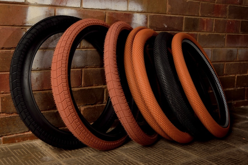 "Cult Dehart tyres Black /Gum or Black /Black and Cult x Vans colab waffle tyres; assorted colors options. 2..35""  >click here"