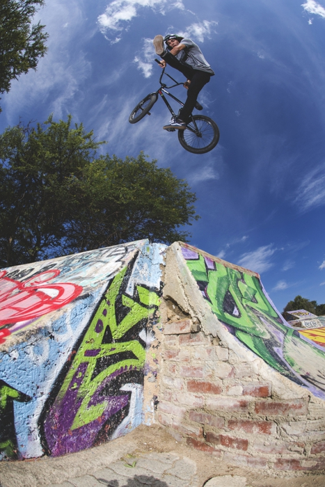 Kevin Peraza: Fourways DIY skatepark.