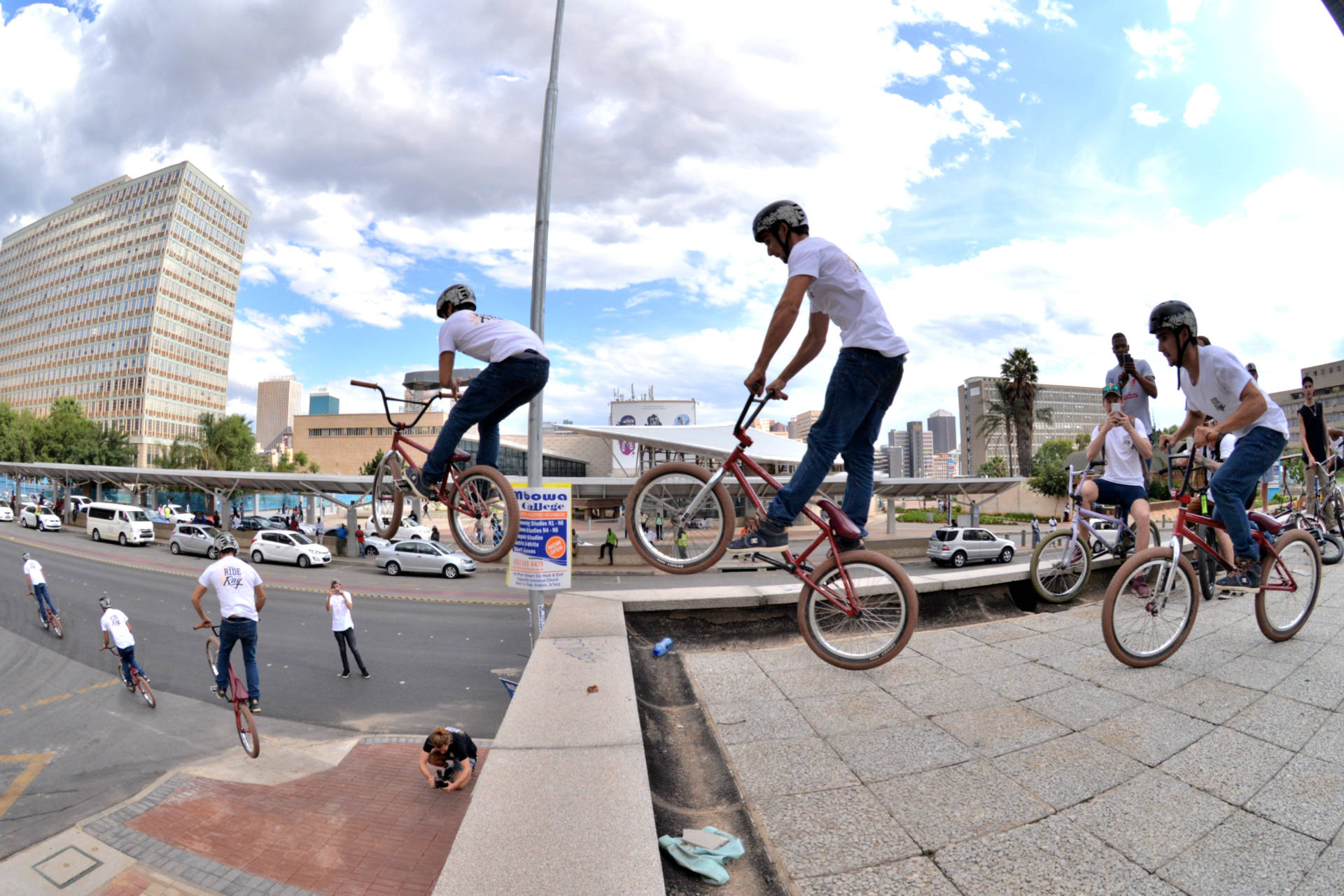 Kyle Davey - Big Bar Spin Gap - Ride for Ray, Johannesburg