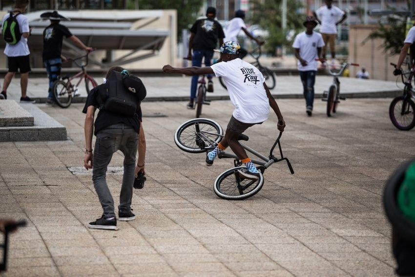 Ride for Ray - Tshepo Mokanyane