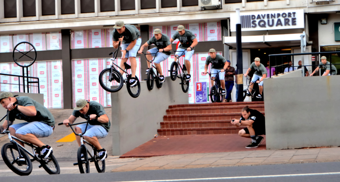 Stuart Loudon - Double pegger to Barspin. Davenport Center Durban