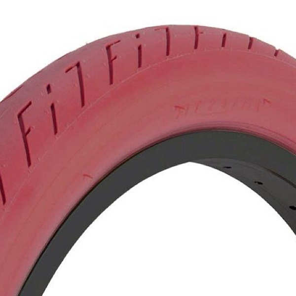 FIT T/A TIRE RED 2.4""