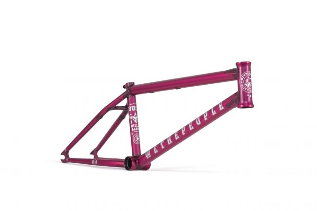 "Wethepeople Buck - 21"" Matt trans purple"