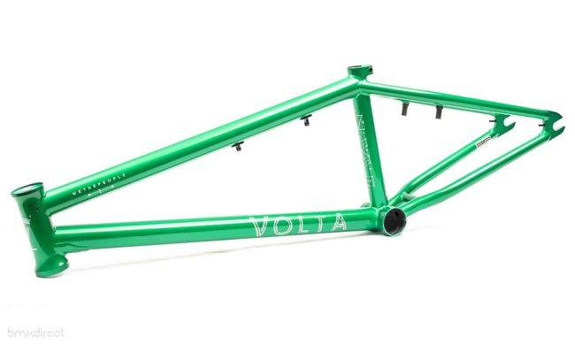 "Wethepeople Volta Frame + Fork Combo - Green 21"""
