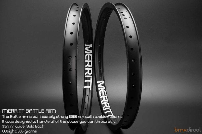 Merritt Battle Rim - Black