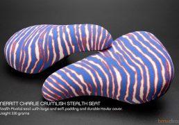 Merritt Charlie Crumlish Stealth Seat - Blue/ Red