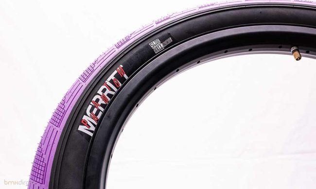 """Merritt Begin Phantom Tyre - Purple 2.5"""""""